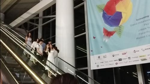 Kang Sora di Pembukaan KIFF 2019