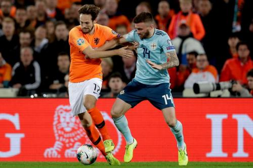 Laga Timnas Belanda vs Irlandia Utara