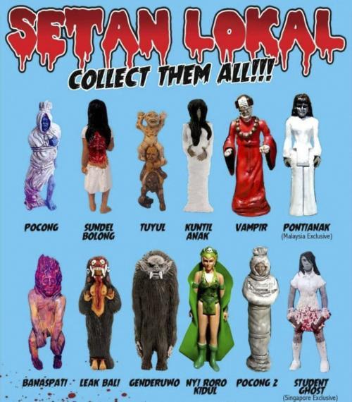 Di festival mainan ini, GoodGuysNeverWin berharap toy figures seri Asian Ghosts yang sudah begitu populer