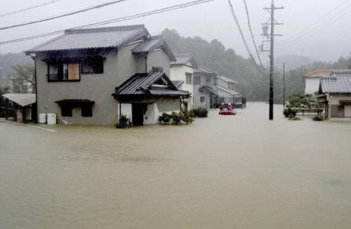 Topan Hagibis di Jepang