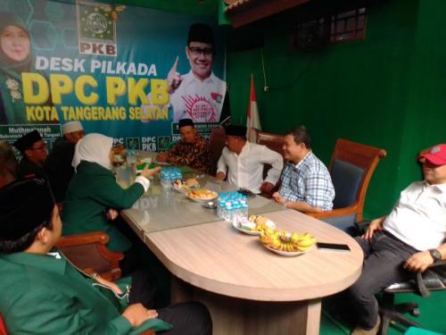 Kantongi Restu Wiranto, Pejabat Kemenko Polhukam Maju Pilkada Tangsel (foto: Okezone/Hambali)