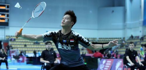 Yonathan Ramlie gagal melenggang ke final (Foto: PBSI)