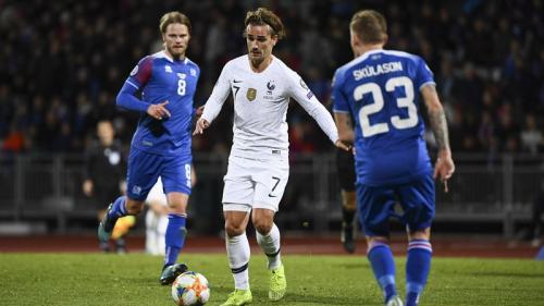 Laga Timnas Islandia vs Prancis