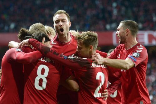 Denmark vs Swiss (Foto: UEFA)
