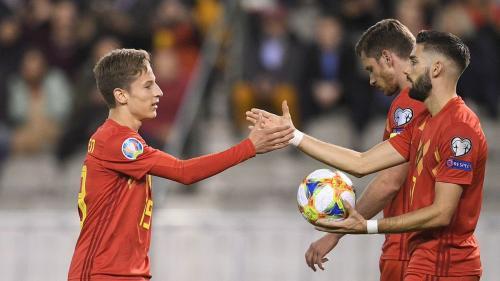Belgia vs Kazakhstan (Foto: UEFA)