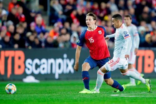 Norwegia vs Spanyol (Foto: UEFA)