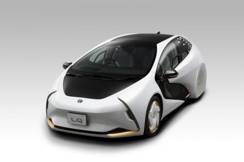 Mobil pintar Toyota LQ