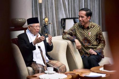 Jokowi-Ma'ruf Amin. (Foto: Ist)