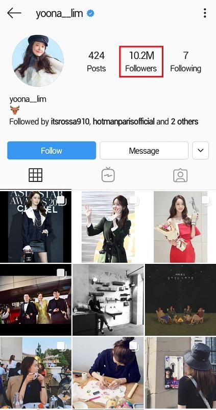 Yoona SNSD merasa khawatir karena akun Instagram pribadinya kembali diretas. (Foto: Instagram/@yoona_lim)