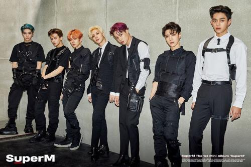 SuperM berhasil menduduki puncak chart Billboard 200. (Foto: SM Entertainment)