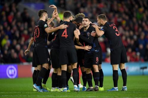 Wales vs Kroasia (Foto: UEFA)
