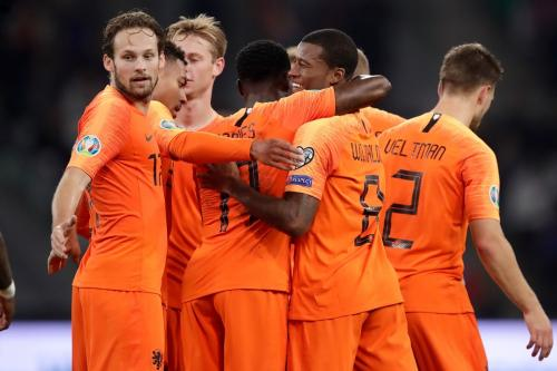 Belarusia vs Belanda (Foto: UEFA)