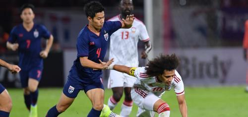 Timnas Thailand sukses menumbangkan UEA 2-1 pada laga terakhir