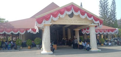 Balai Kabupaten Indramayu (Foto : Okezone.com/Fathnur)