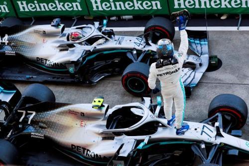 Bottas dan Hamilton