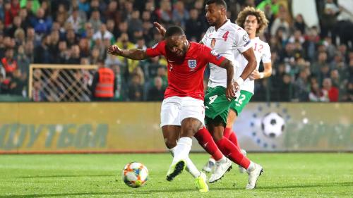 Raheem Sterling vs Bulgaria (Foto: UEFA)