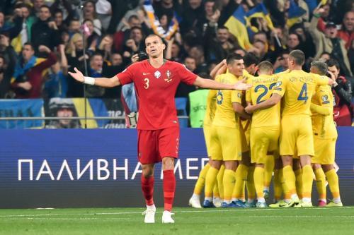 Ukraina kalahkan Portugal 2-1 di Kualifikasi Piala Eropa 2020