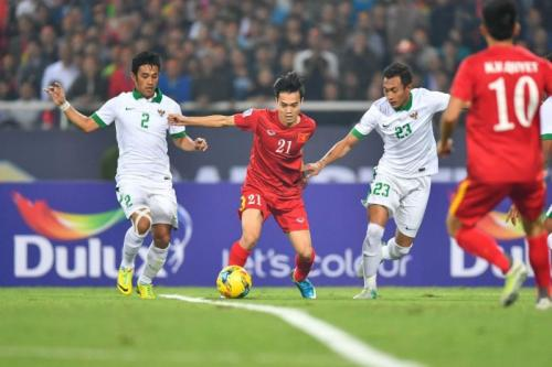 Indonesia sanggup menahan Vietnam 2-2 di My Dinh pada 2016 (Foto: AFF Suzuki Cup)