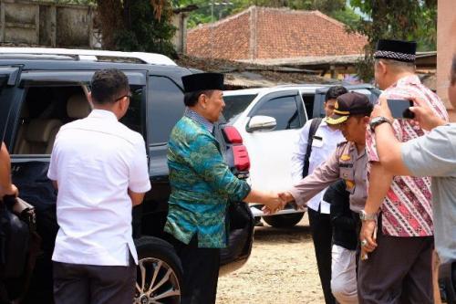 Penusukan Wiranto di Pandeglang, Banten. (Foto: Ist)