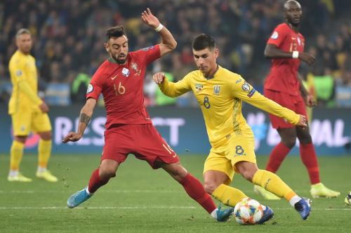 Ukraina kalahkan Portugal 2-1