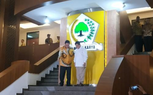 Prabowo dan Airlangga Hartarto