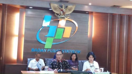 BPS pengumuman Neraca Dagang September 2019 (Yohana Artha Uly)