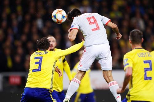 Swedia vs Spanyol (Foto: UEFA)