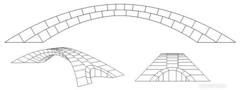 Desain Jembatan Leonardo da Vinci