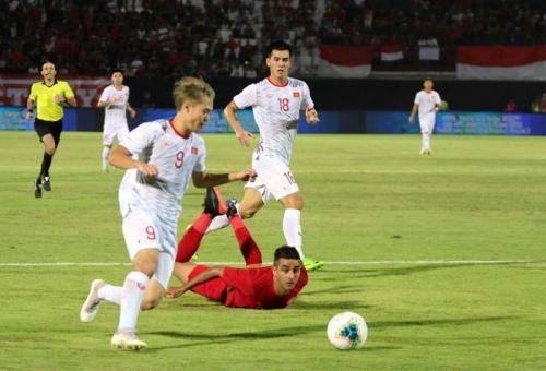 Timnas Vietnam berhasil menang 3-1 atas Indonesia (Foto: Facebook/Federasi Sepakbola Vietnam)