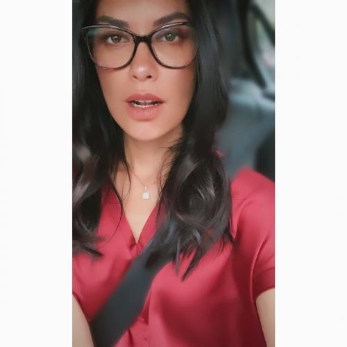 Tante Sophia kacamata