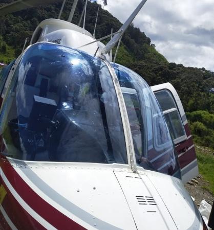 Helikopter ditembaki di Papua Foto: Saldi Hermanto