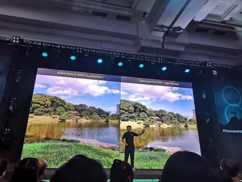 Xiaomi meluncurkan Redmi Note 8 dan Note 8 Pro di Indonesia.