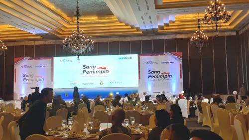 Okezone.com Berikan Penghargaan kepada 18 Kepala Daerah Berprestasi di Hotel Kempinski Jakarta, Jumat (18/10/2019). (Foto : Okezone.com/Sarah Hutagaol)