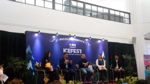konferensi pers Icefest Music Concert 2019