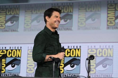 Produksi Edge of Tomorrow 2 terpaksa tertunda karena Tom Cruise masih disibukkan dengan syuting Mission: Impossible. (Foto: Instagram/@tomcruise)