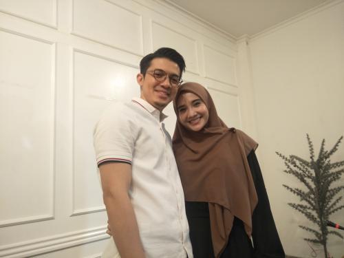 Shireen Sungkar enggan menanggapi kasus penipuan yang melibatkan Zaskia Sungkar dan Irwansyah. (Foto: Okezone)