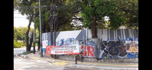 Spanduk Pelantikan Jokowi
