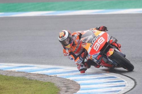 Jorge Lorenzo ketika tampil pada sebuah balapan di MotoGP 2019