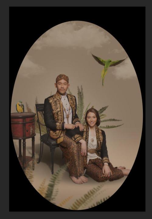 Pernikahan Cicit Soeharto