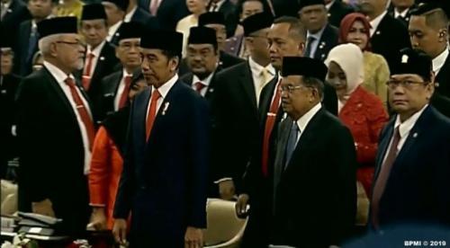 Pelantikan Jokowi-Maruf Amin Foto: Ist