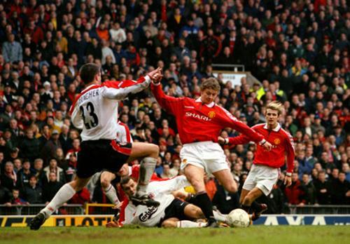 Ole Gunnar Solskjaer total hanya mengemas dua gol ke gawang Liverpool sepanjang kariernya di Liga Inggris (Foto: World Soccer Talk)