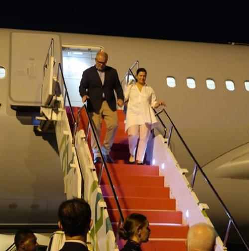 Jelang Akhir Jabatan, Menteri Jonan Jemput Perdana Menteri Australia