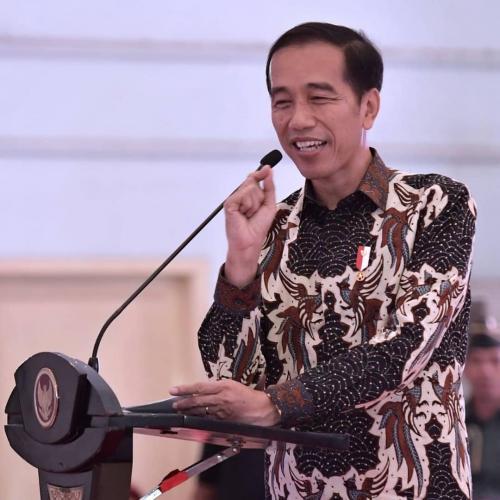 Jokowi batikan
