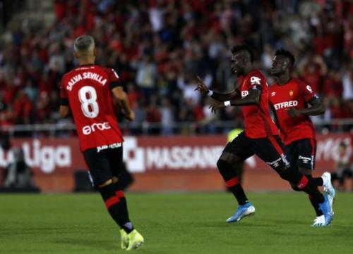 Lago Junior mencetak gol tunggal di laga tersebut (Foto: La Liga)