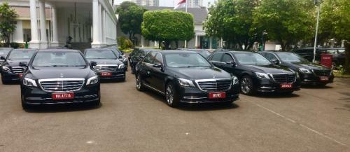 Sedan mewah untuk pelantikan Jokowi