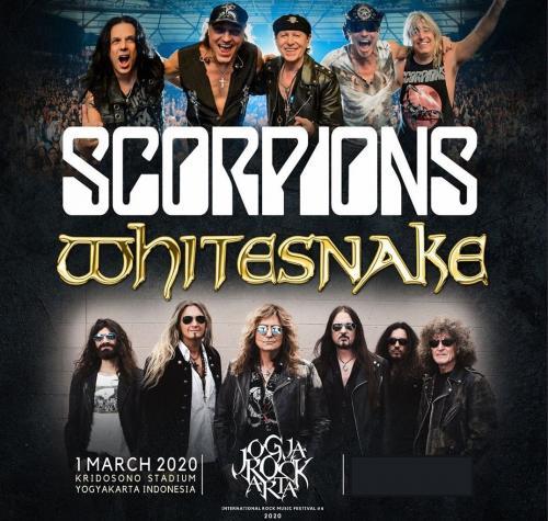Scorpions dan Whitesnakes