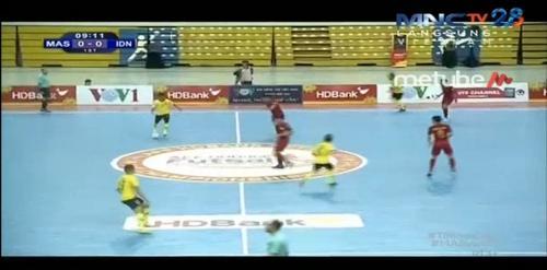 Timnas Futsal Indonesia vs Malaysia