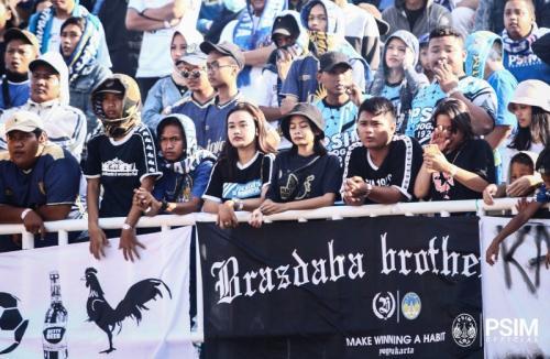 Suporter PSIM Yogyakarta