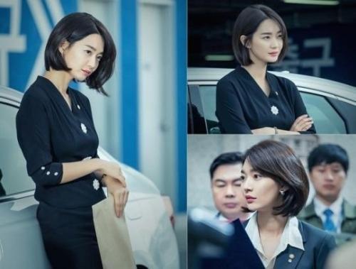 """bisa sontek potongan rambut yang ditampilkan Shin Min Ah dalam drama """"Chief of Staff"""". Keren kan?"""