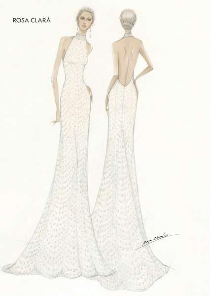 Persis seperti gaun resepsi Meghan yang dirancang oleh desainer kenamaan asal Inggris, Stella McCartney.